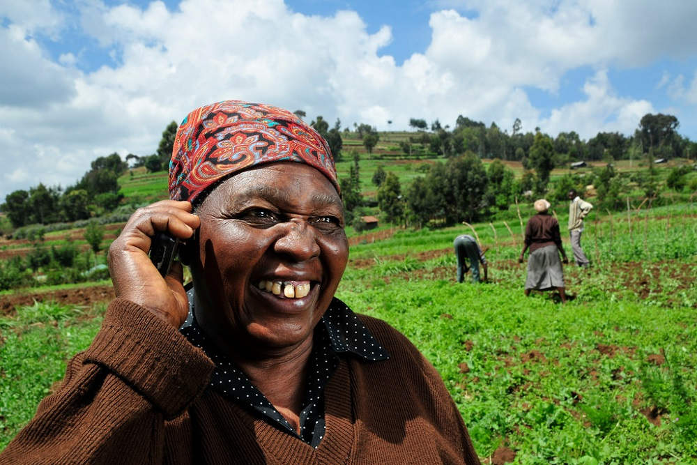 Can Mobile Phones Help to Improve Food Security?